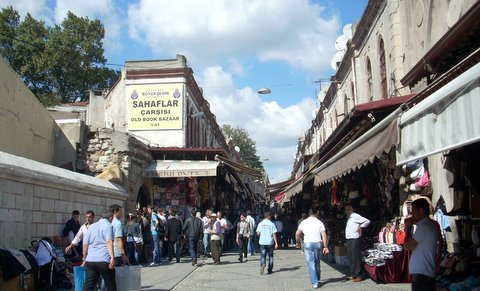 Istanbul_book_bazaar