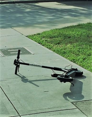 Scooter_fallen
