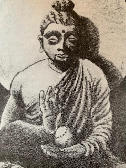 BuddhaHoldingBaseball