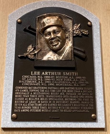 HOF_SmithLee_plaque